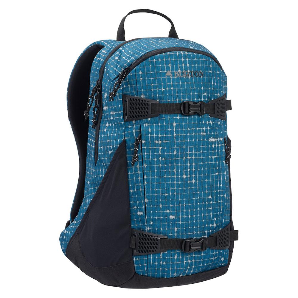 Burton Day Hiker 25L Rugzak Blue Sapphire Ripstop Texture Print