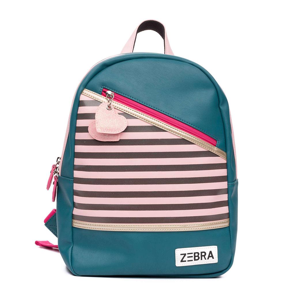 Zebra Trends Kinder Rugzak M Holiday Green