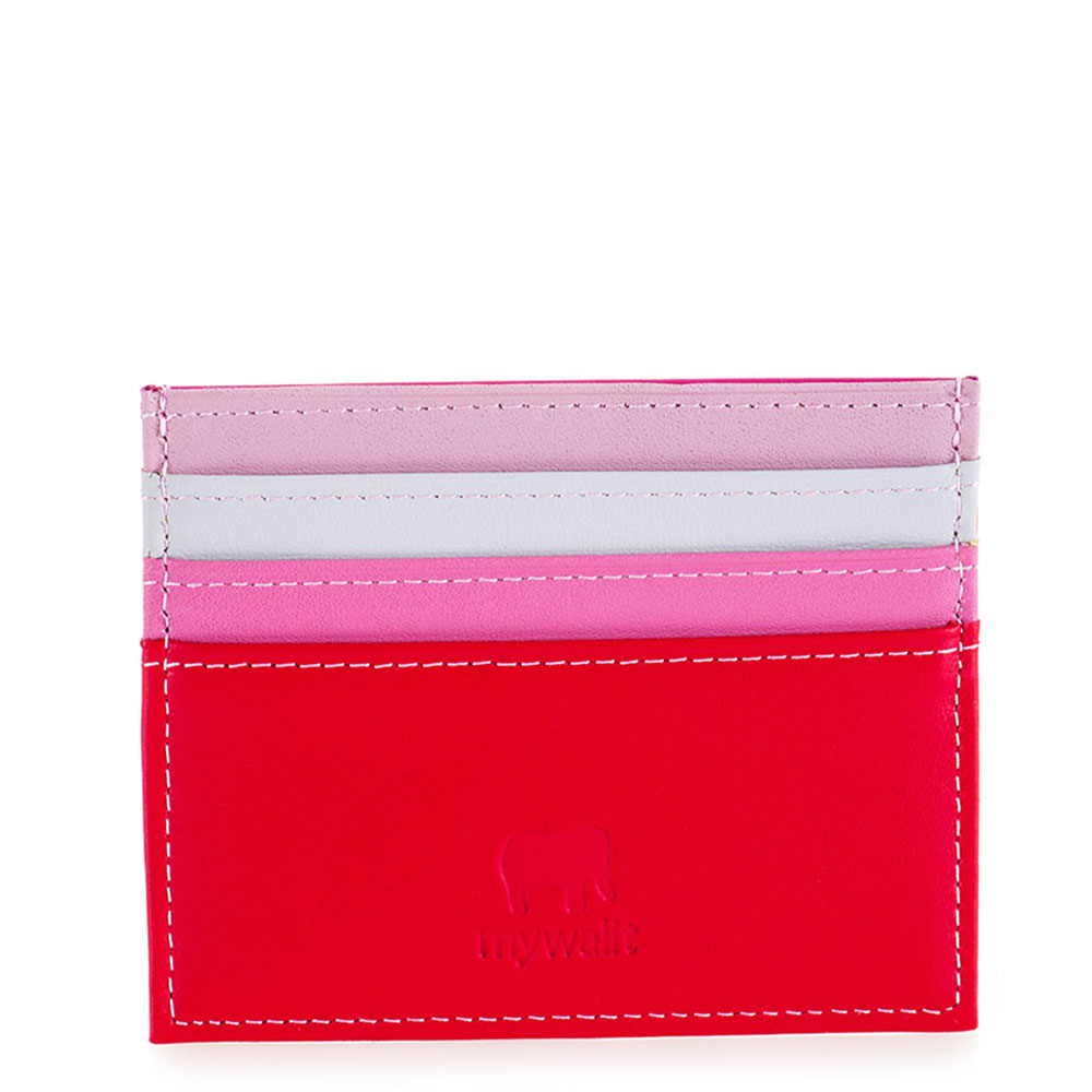Mywalit Double Sided Credit Card Holder Ruby