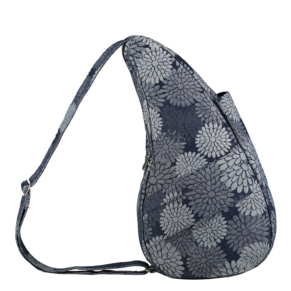 The Healthy Back Bag The Classic Collection S Flower Power Grey Denim