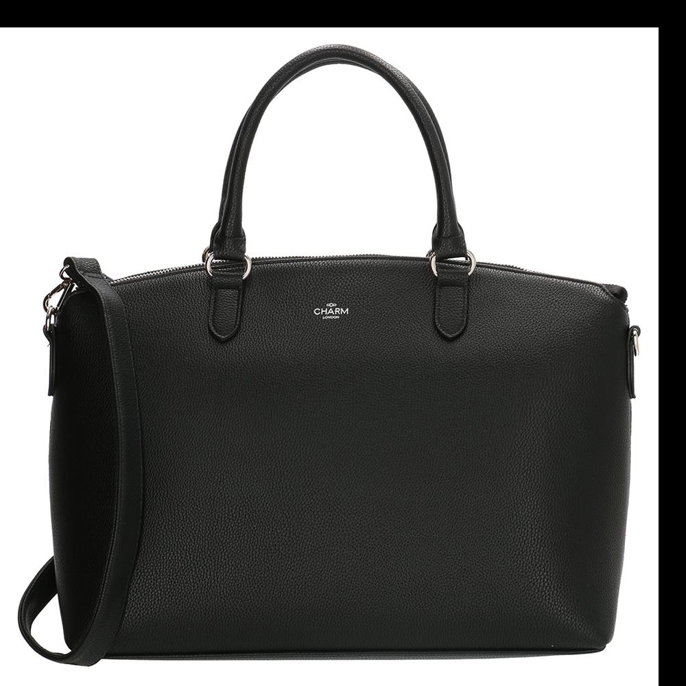 Charm London Stratford Handbag Shopper Black