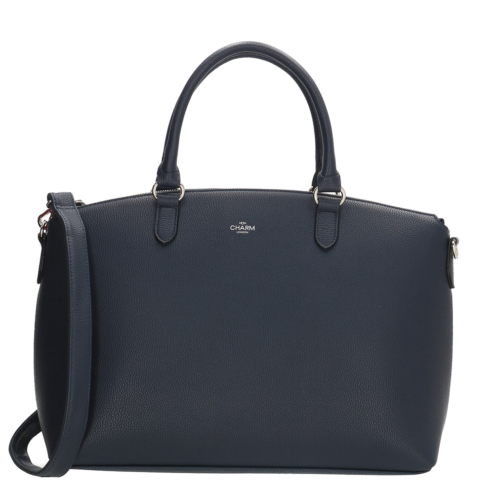 Charm London Stratford Handbag Shopper Blue
