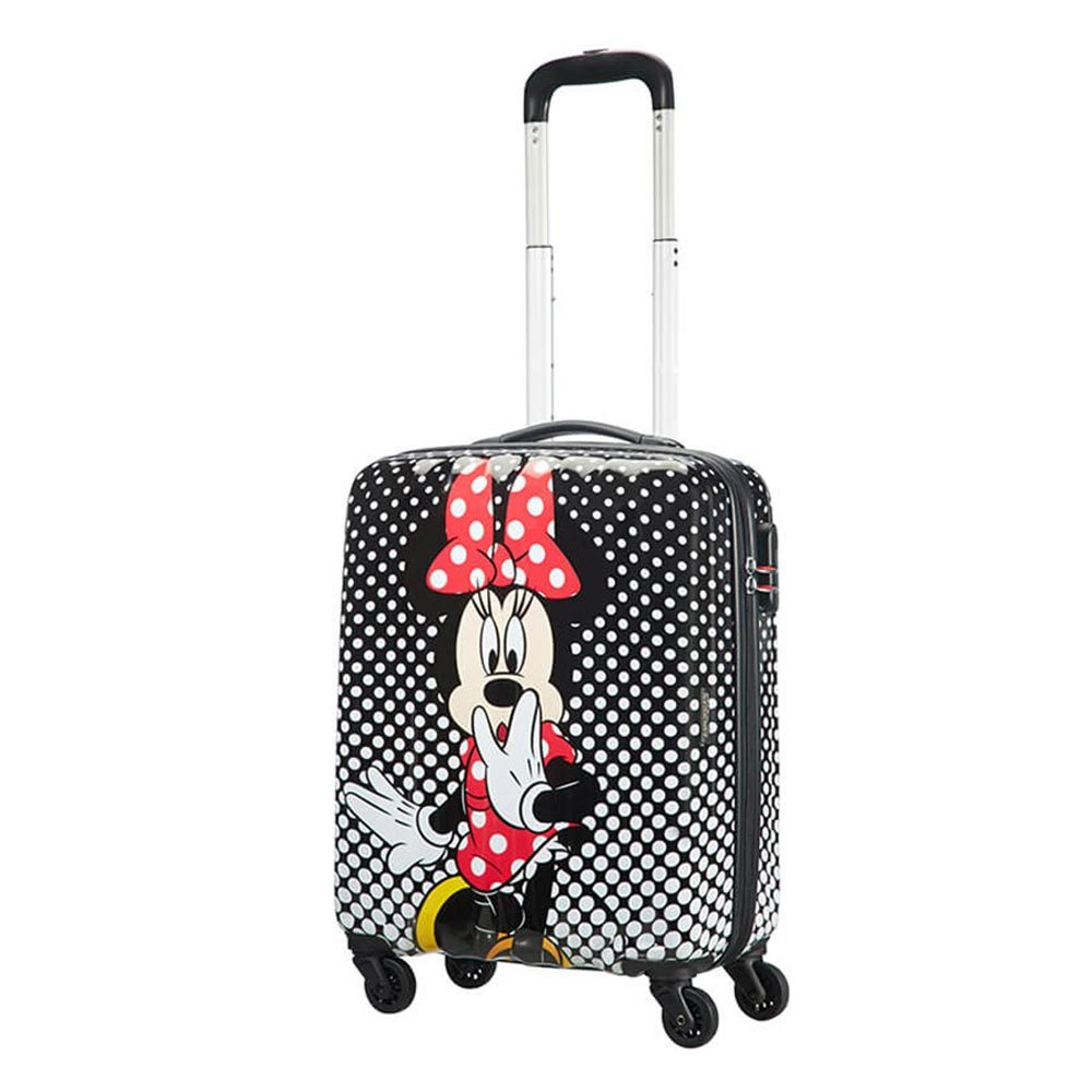 American Tourister Disney Legends Spinner 55 Minnie Mouse Polka Dot