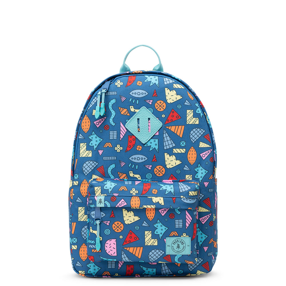 Parkland Bayside Kids Backpack Abstract