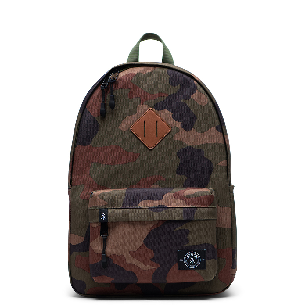 Parkland Bayside Kids Backpack Classic Camo