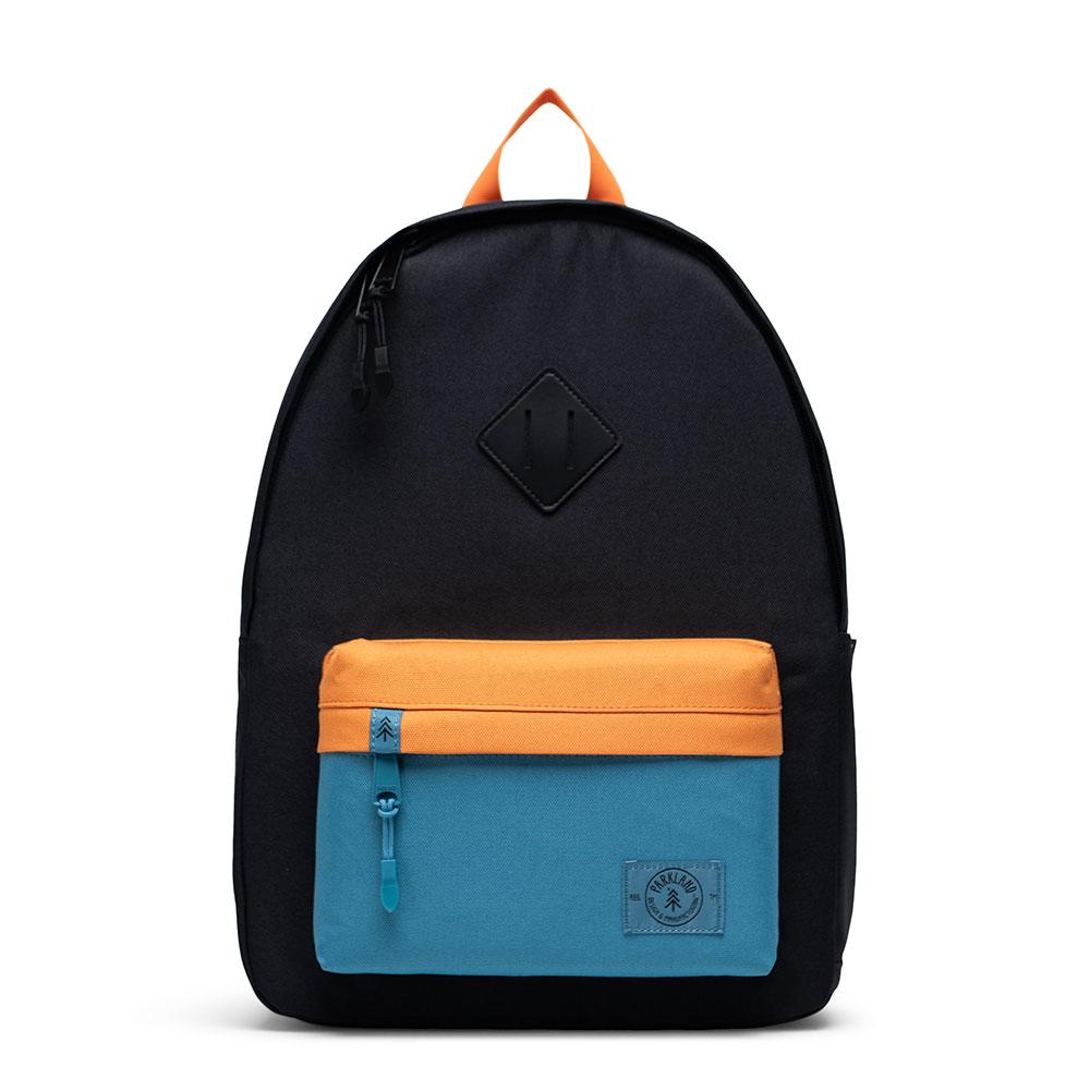 Parkland Bayside Kids Backpack Black Amber