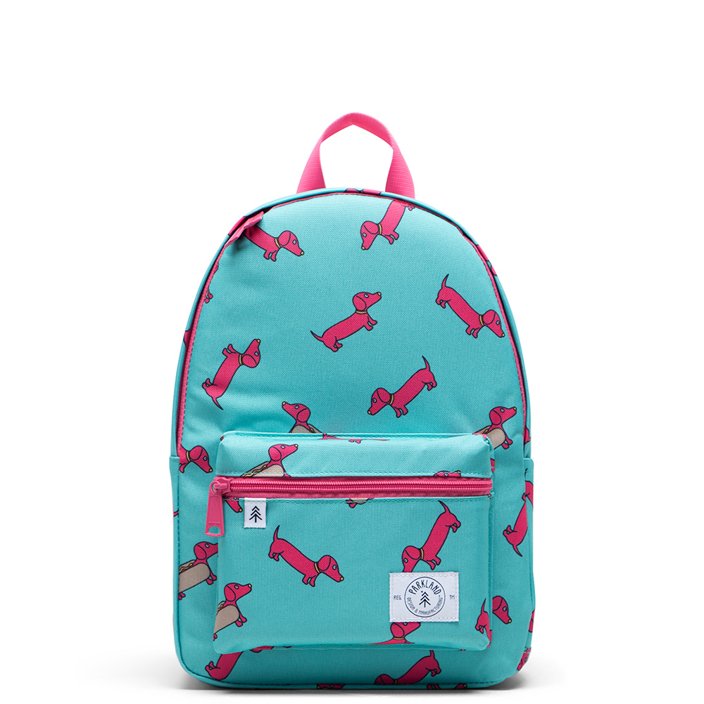 Parkland Edison Kids Backpack Hot Pink Hot Dog