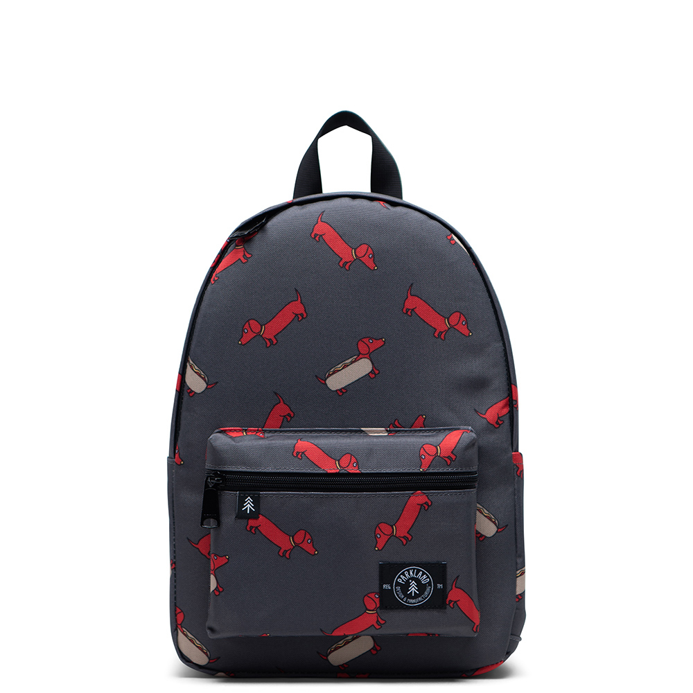 Parkland Edison Kids Backpack Red Hot Dog