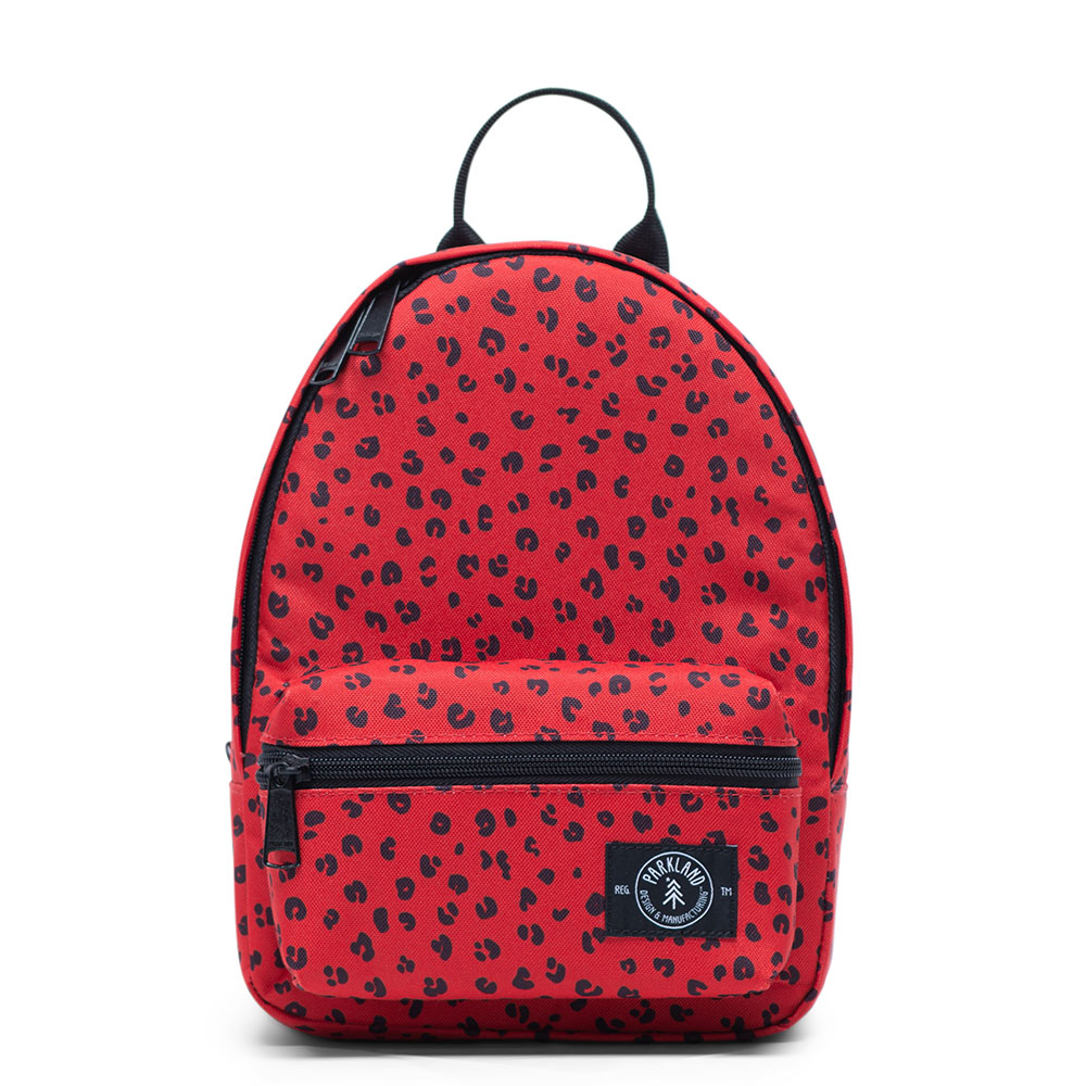 Parkland Rio Backpack Red Leopard