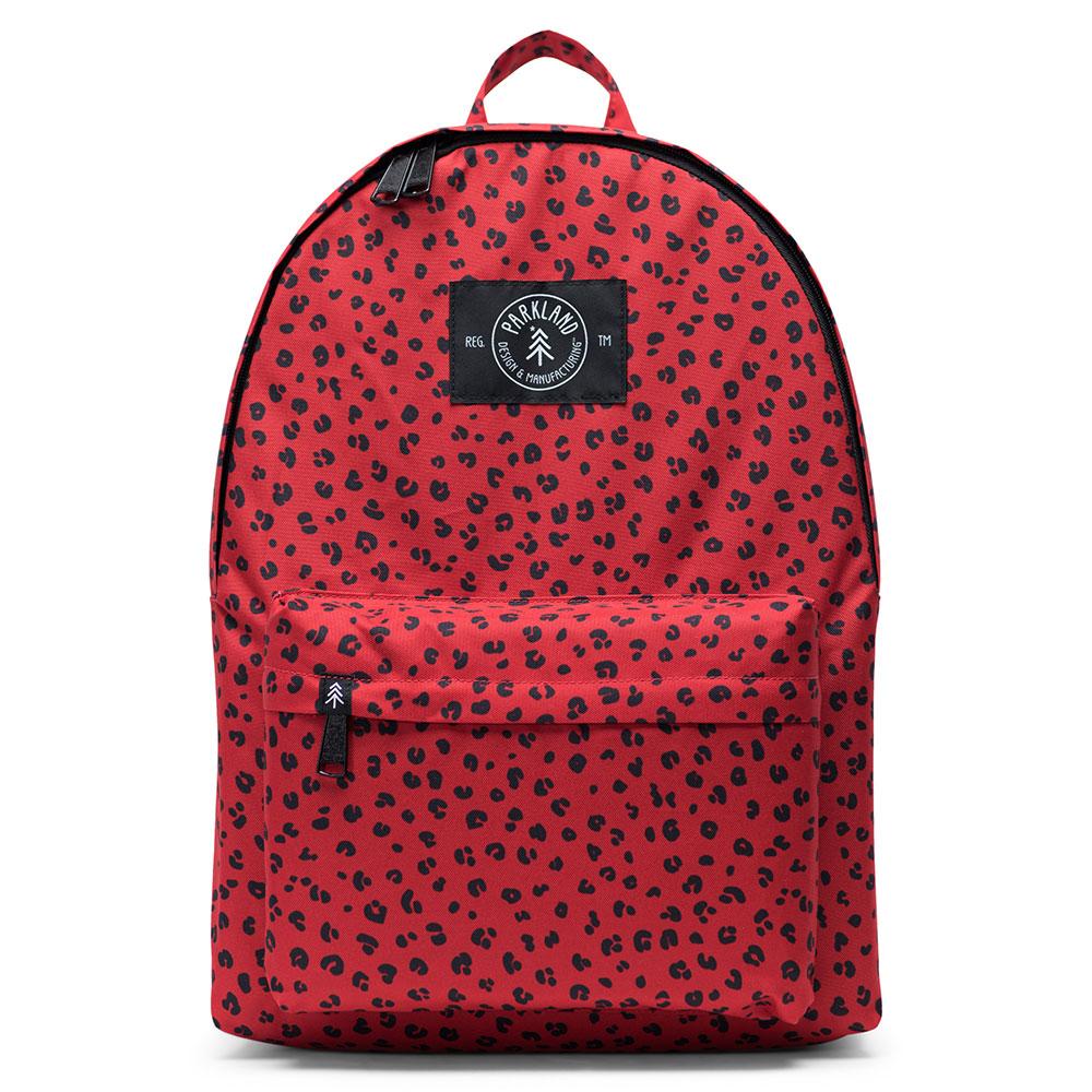 Parkland Franco Backpack Red Leopard