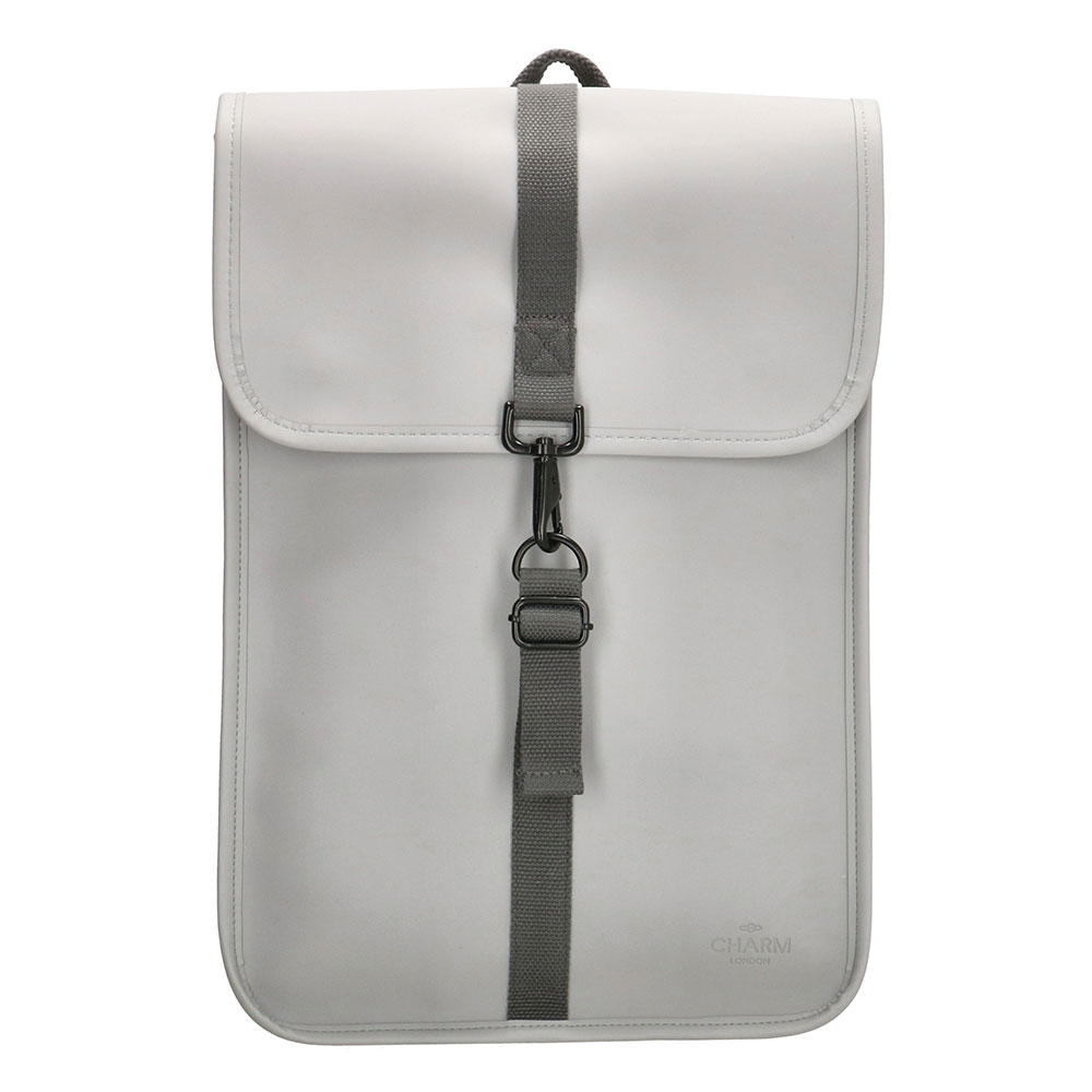 Charm London Neville Waterproof Backpack Mid Grey