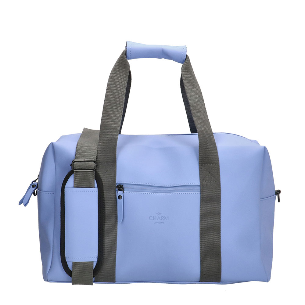 Charm London Neville Waterproof Duffle Bag Light Blue