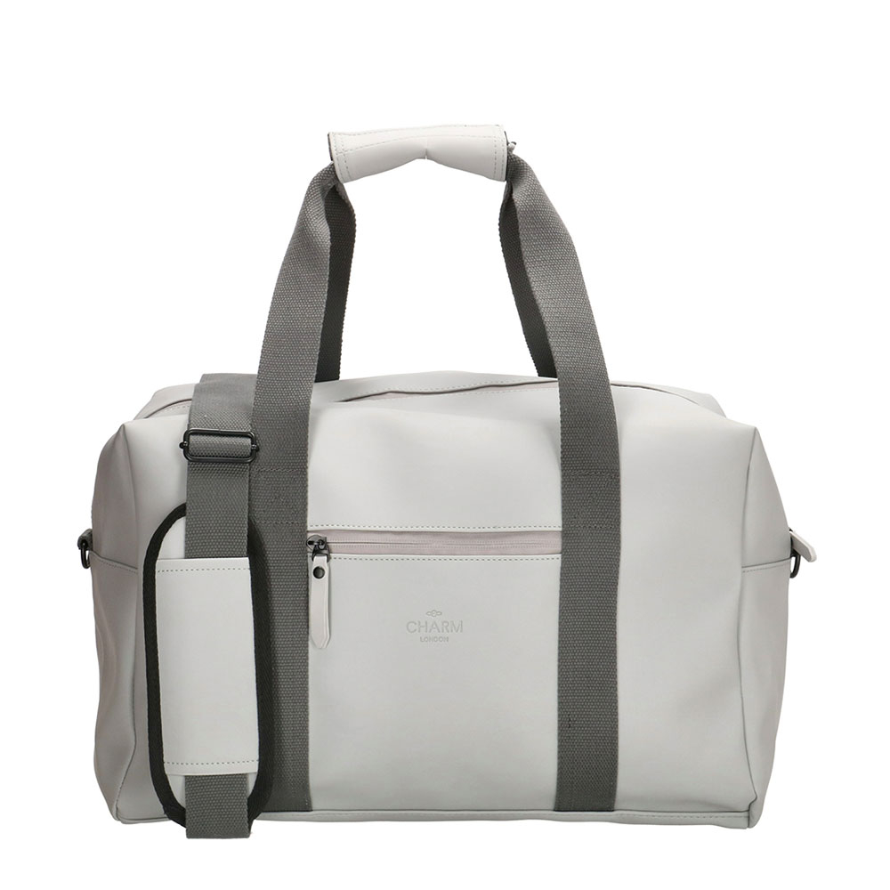 Charm London Neville Waterproof Duffle Bag Mid Grey