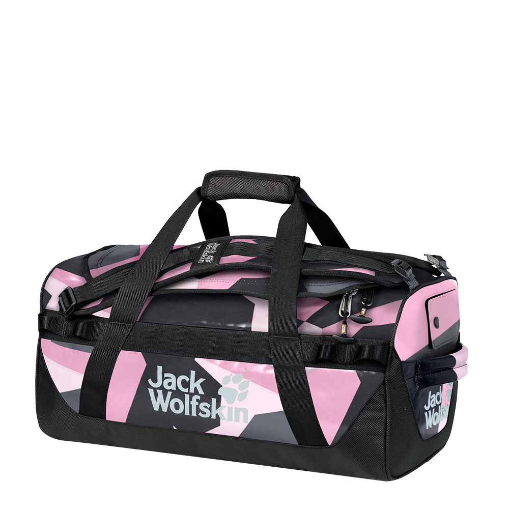 Jack Wolfskin Expedition Trunk 30 Reistas Pink Geo Block