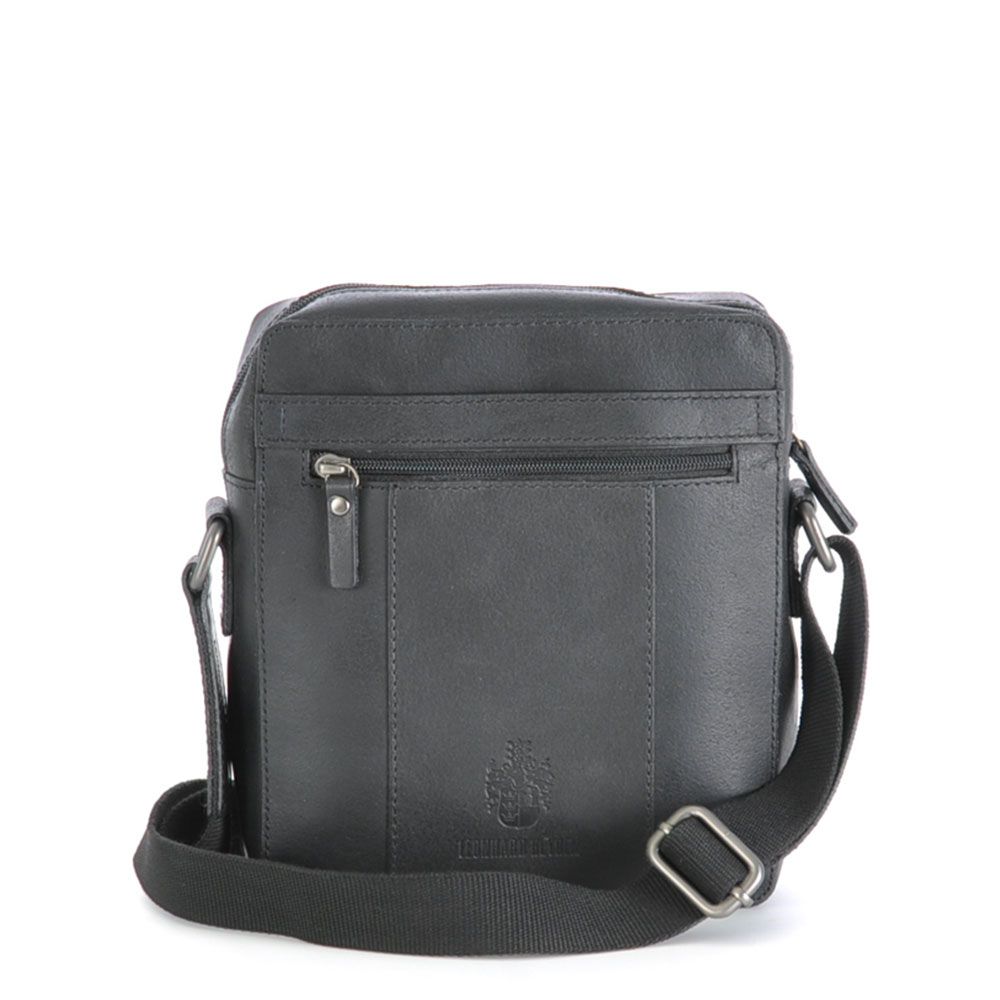 Leonhard Heyden Dakota Messenger Bag XS Black