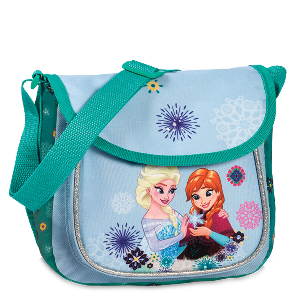 Disney Frozen Kinder Schoudertas Light Blue