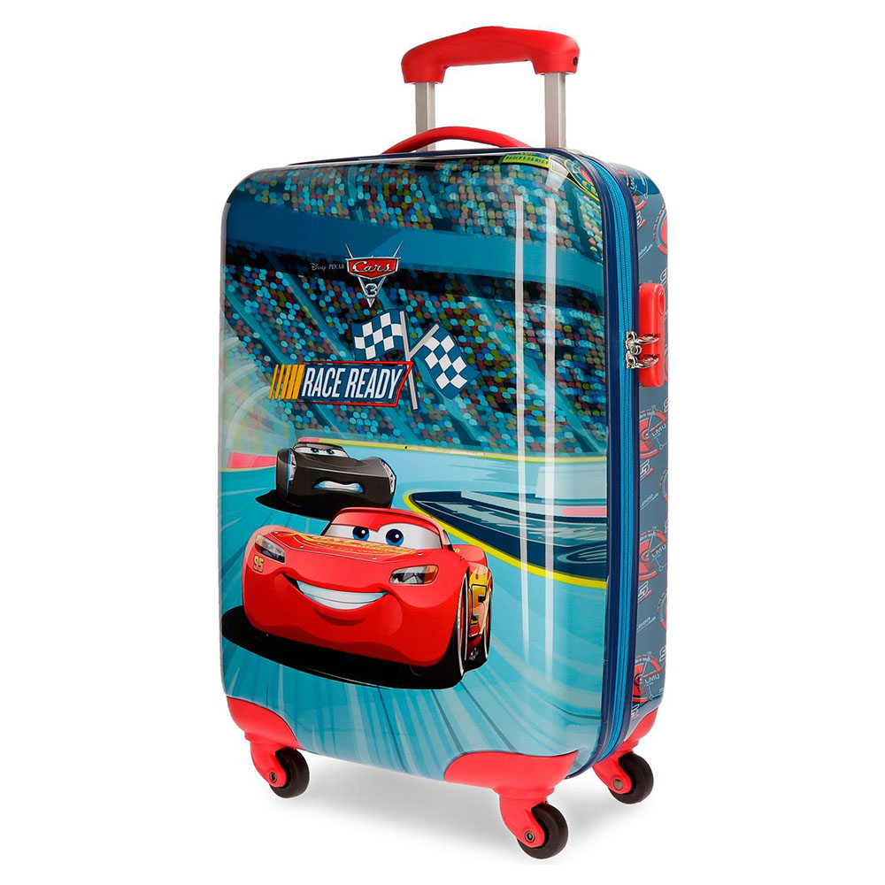 Harde Koffers Disney Disney Trolley 55 Cm 4 Wheels Cars Race