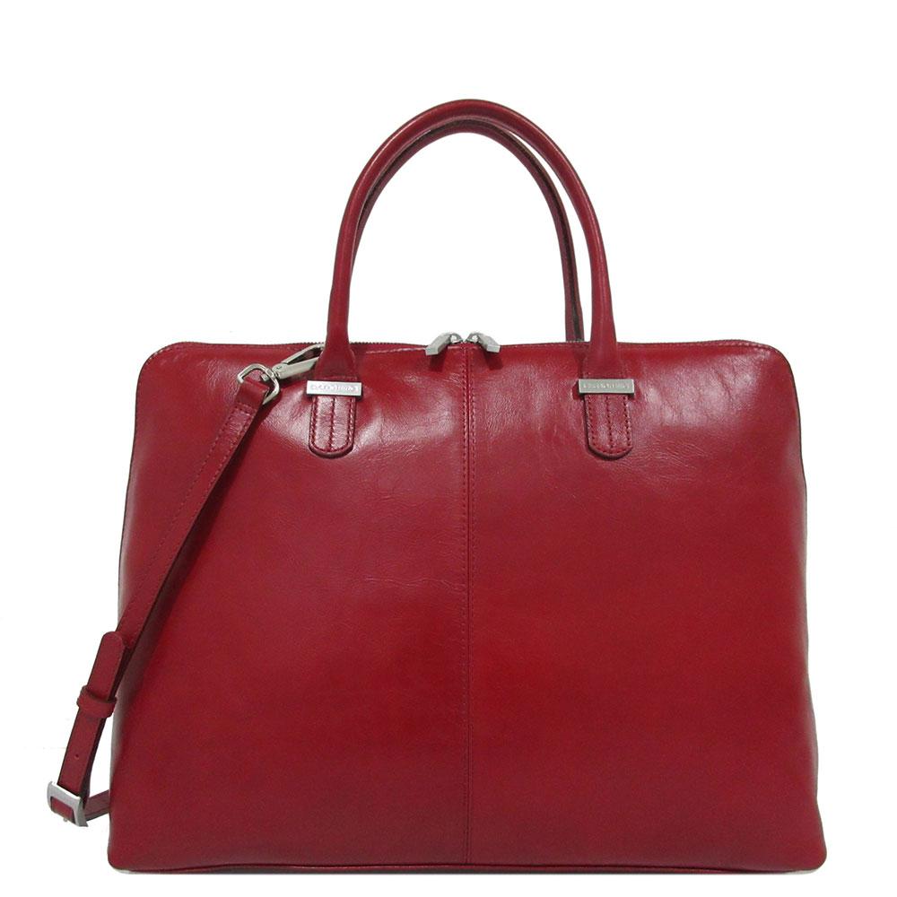 Claudio Ferrici Classico Workbag 15.6'' Red 18028