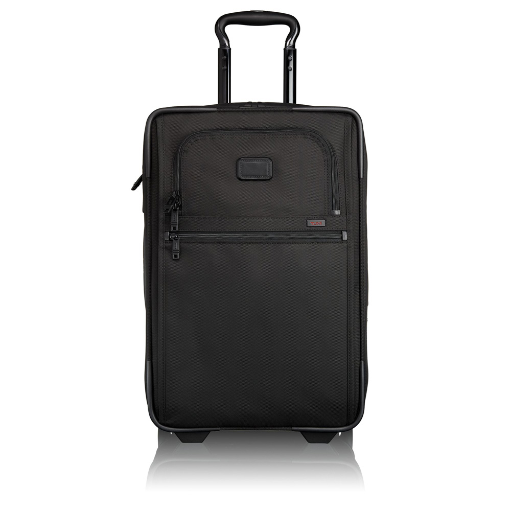 Tumi Alpha 2 Travel International Expandable 2-Wheel Carry On 56 Black