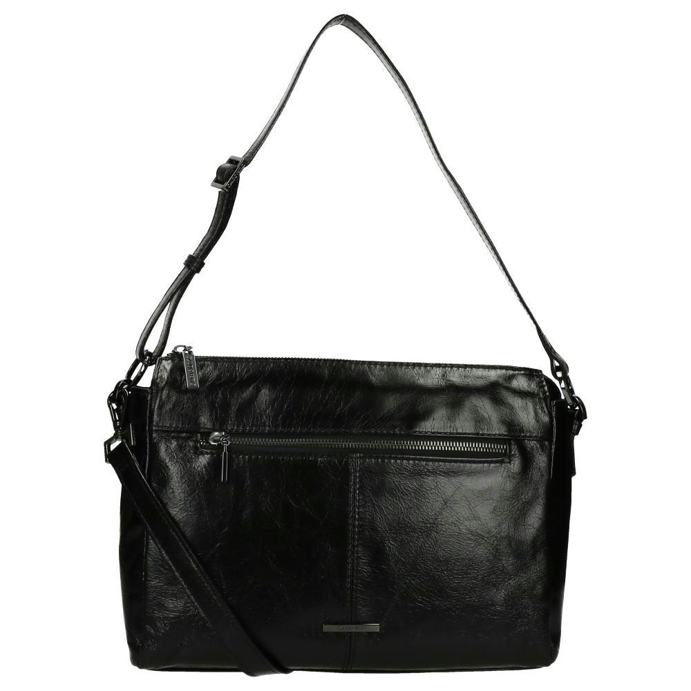Claudio Ferrici Pelle Vecchia Shoulder Bag Black