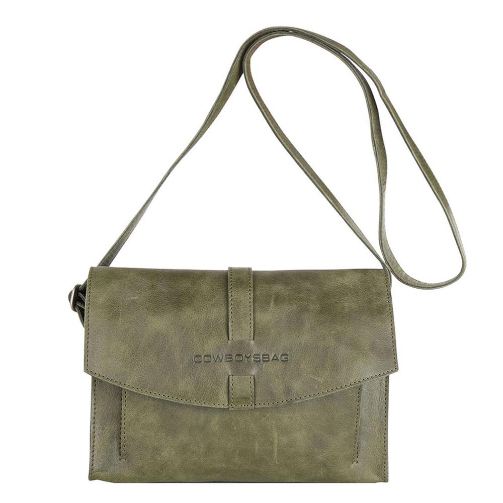 Cowboysbag Bag Cecil Schoudertas Forest Green 2209