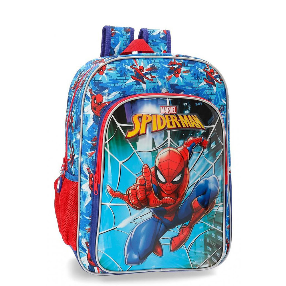 Disney Backpack M Spiderman Street