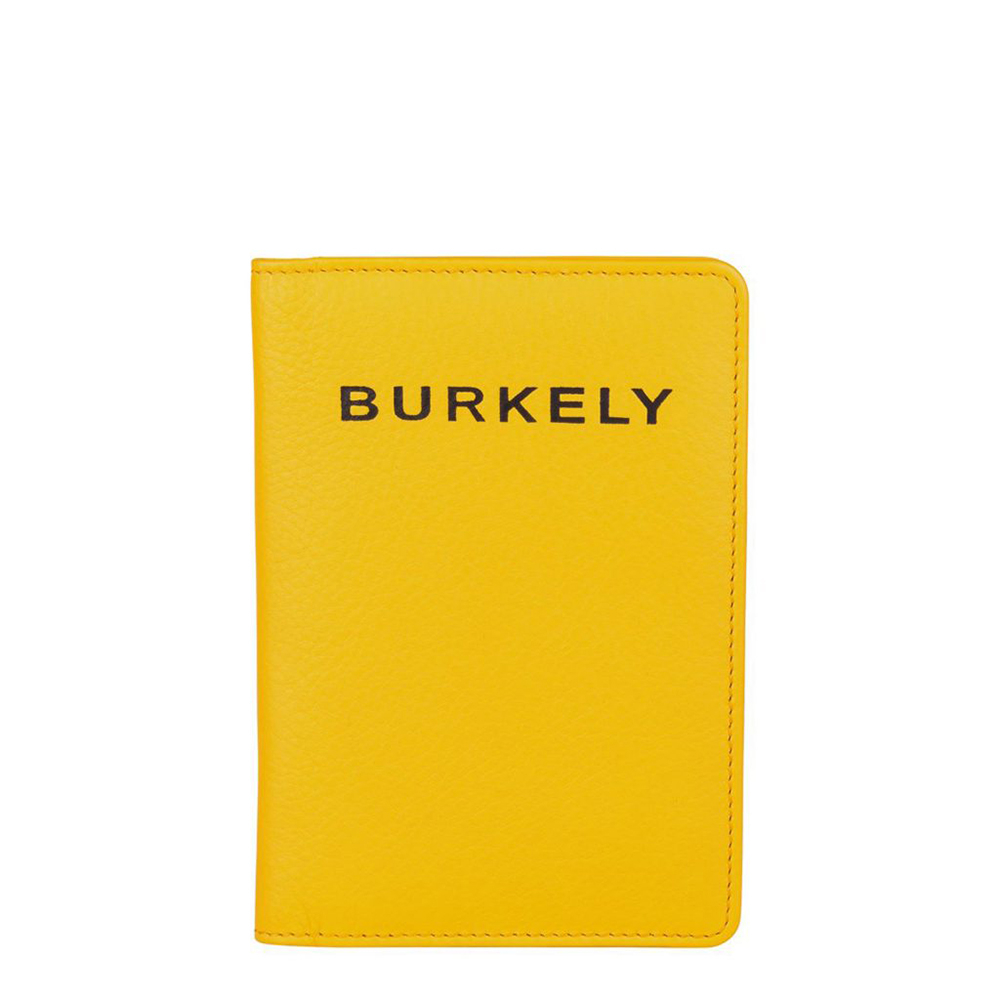 Burkely Rebel Reese Passpoortcover Yellow