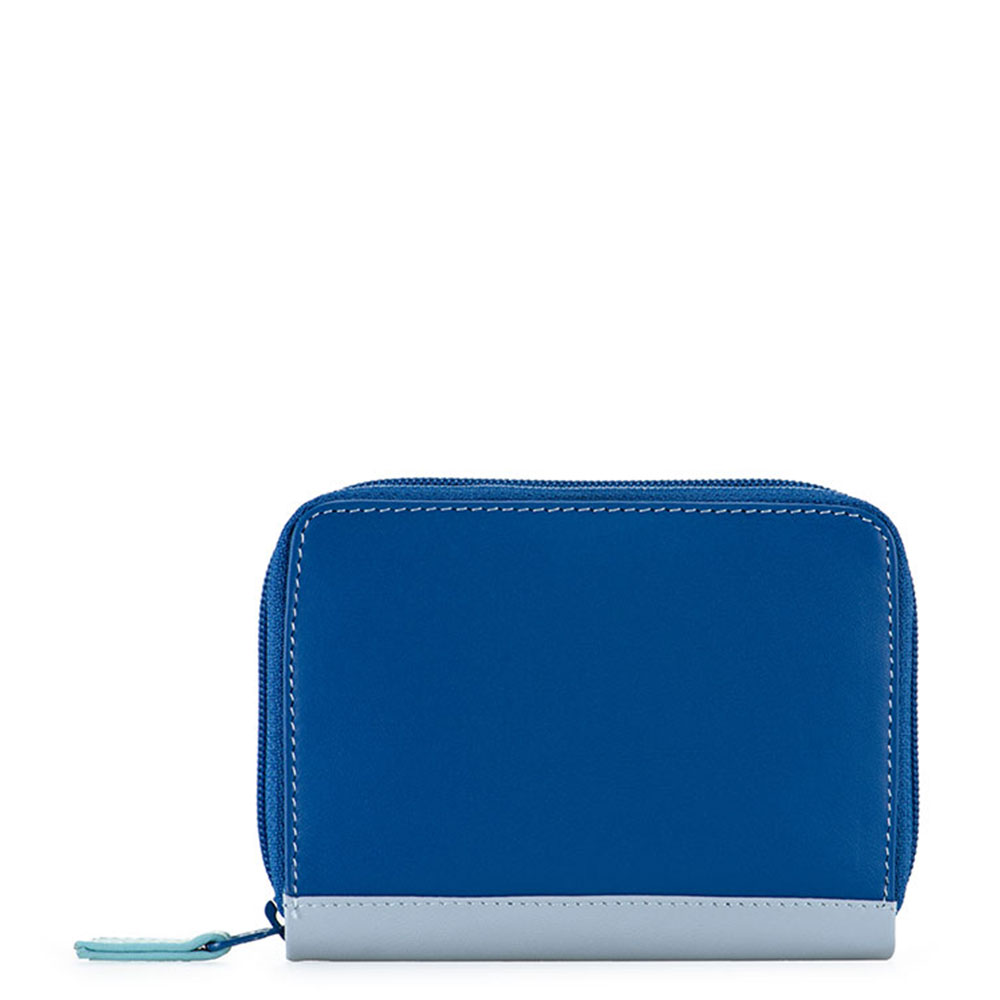 Mywalit Zip Around Credit Card Holder Denim