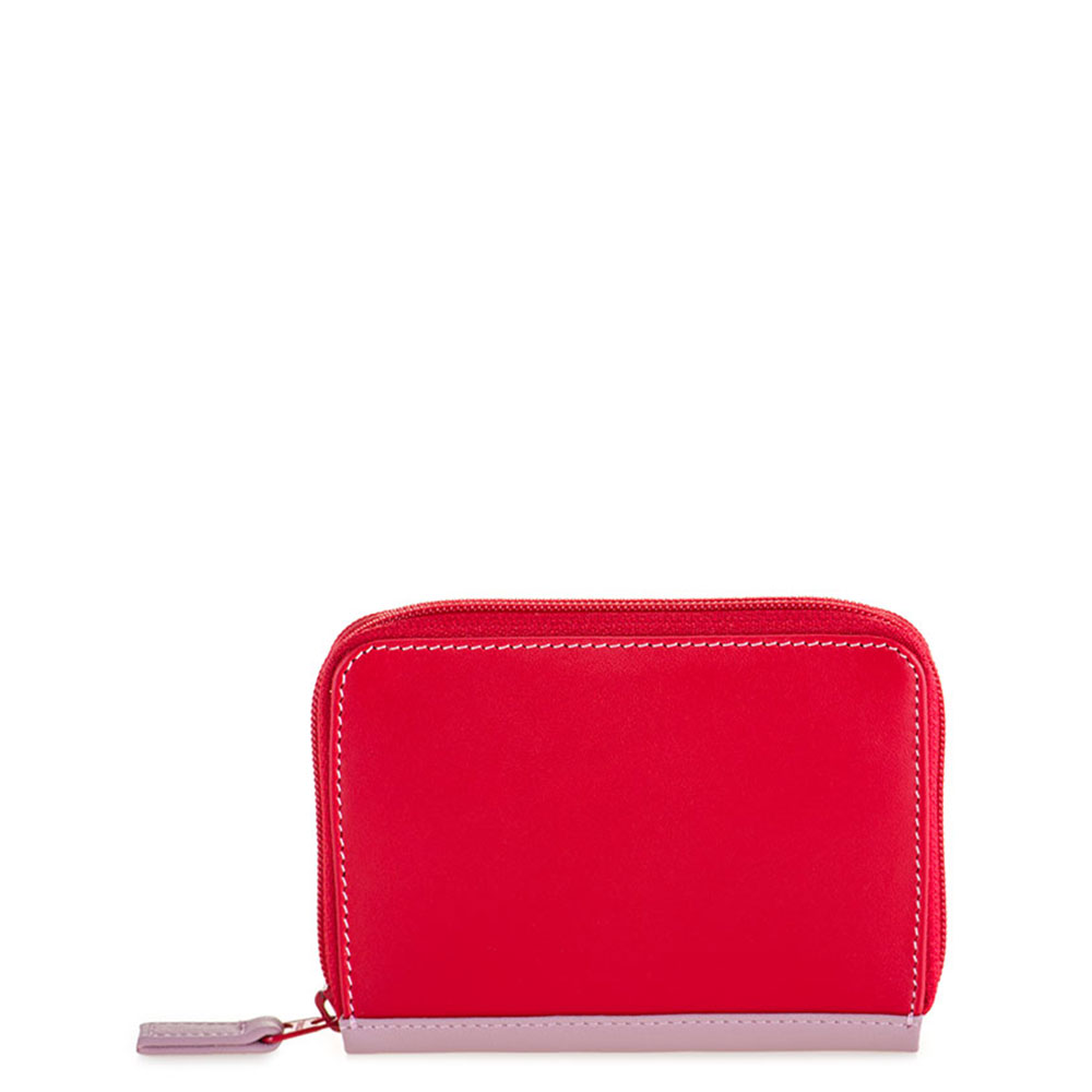 Mywalit Zip Around Credit Card Holder Ruby