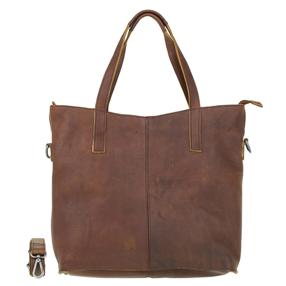 DSTRCT Raider Road Laptop 15 Shopper Cognac 361230
