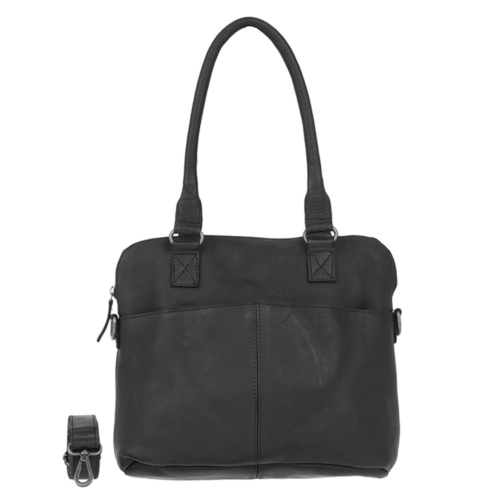 DSTRCT Raider Road Handbag Black 361530