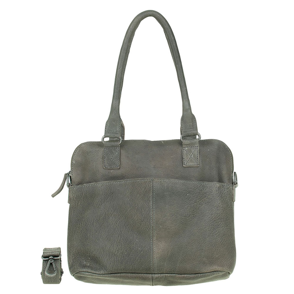 DSTRCT Raider Road Handbag Grey 361530