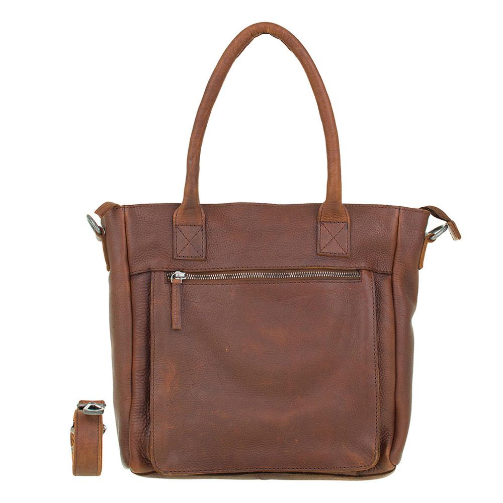 DSTRCT Raider Road Handbag Cognac 361630