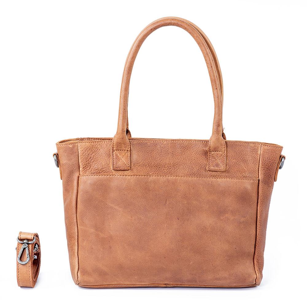 DSTRCT Raider Road Handbag Cognac 362030