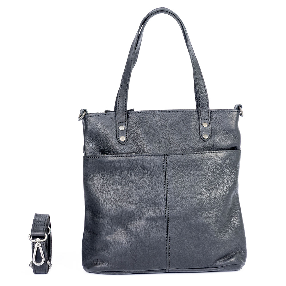 DSTRCT Raider Road Shopper Small Black 362530