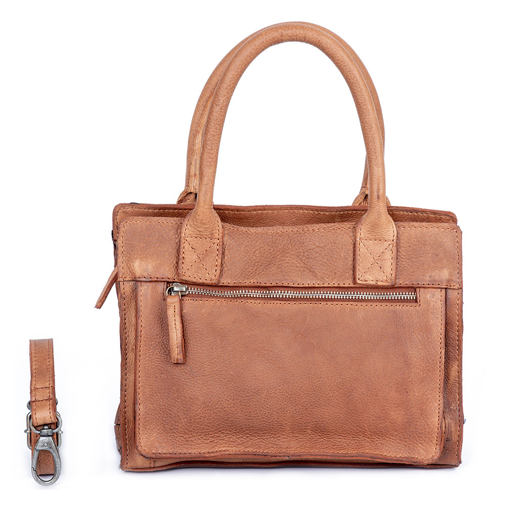 DSTRCT Raider Road Handbag Small Cognac 362830
