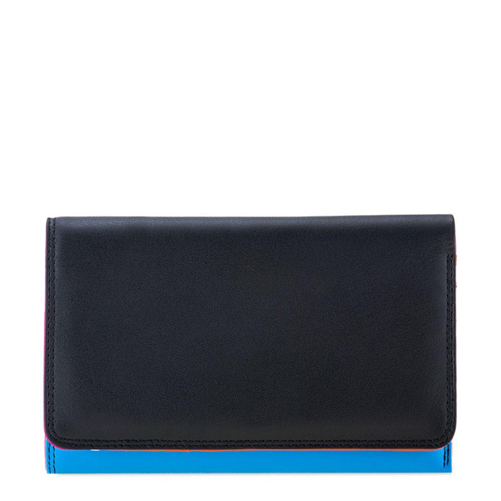Mywalit Medium Tri-Fold Wallet Outer Zip Portemonnee Burano