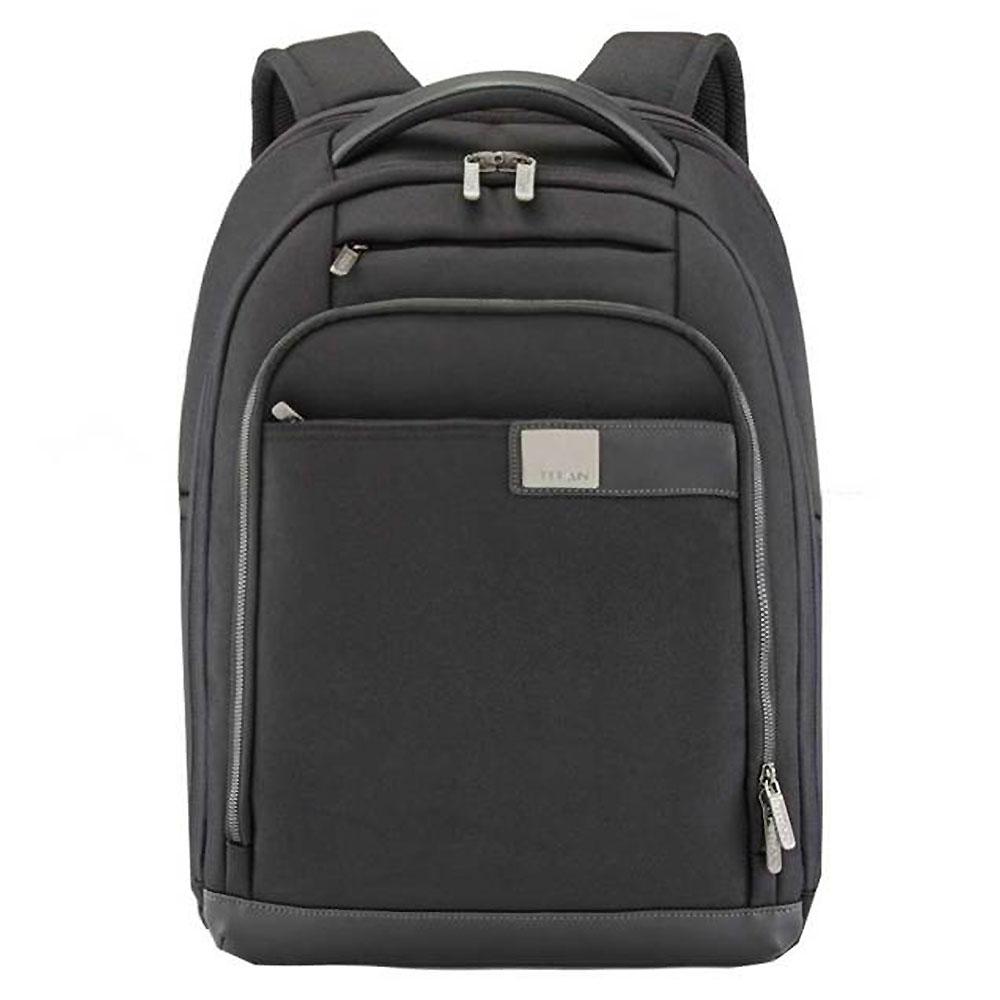 Titan Power Pack 15.6'' Slim Laptop Backpack Black