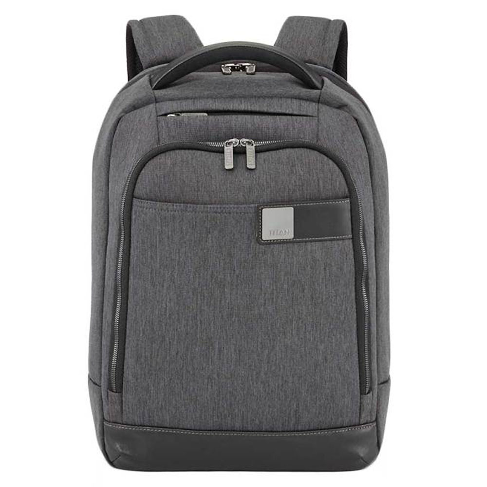 3319bb77aca Titan Power Pack 15.6'' Slim Laptop Backpack Mixed Grey