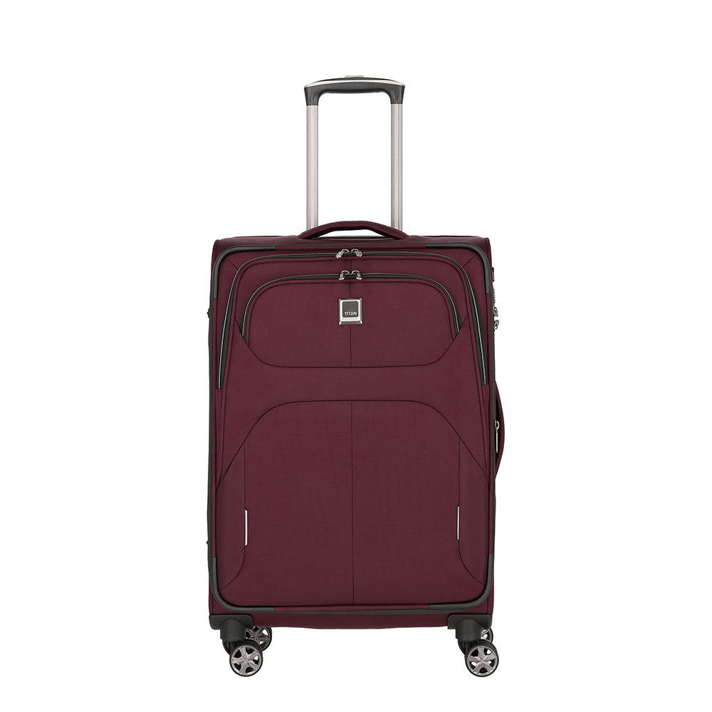 Titan Nonstop 4 Wheel Trolley M Exp. Merlot