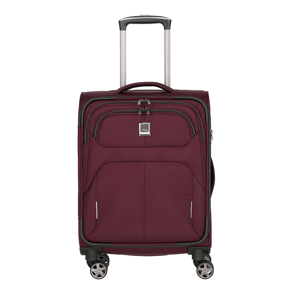 Titan Nonstop 4 Wheel Trolley S Merlot