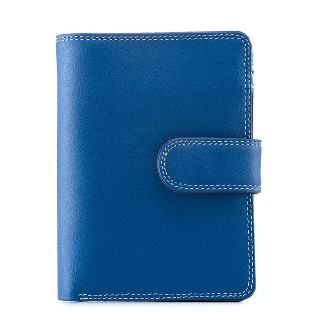Mywalit Medium Snap Wallet Portemonnee Denim