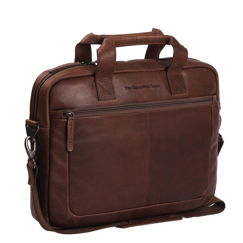 Chesterfield Calvi Laptoptas 15.6 Brown