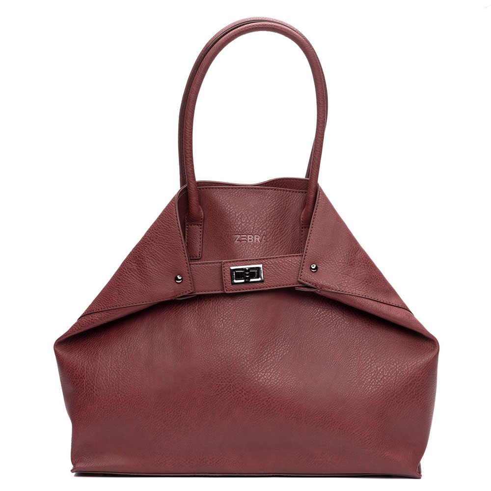 Zebra Trends Natural Bag Victoria Dark Red 399001