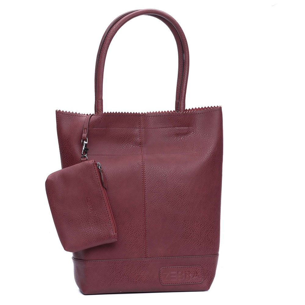 Zebra Trends Natural Bag Kartel Dark Red 399008