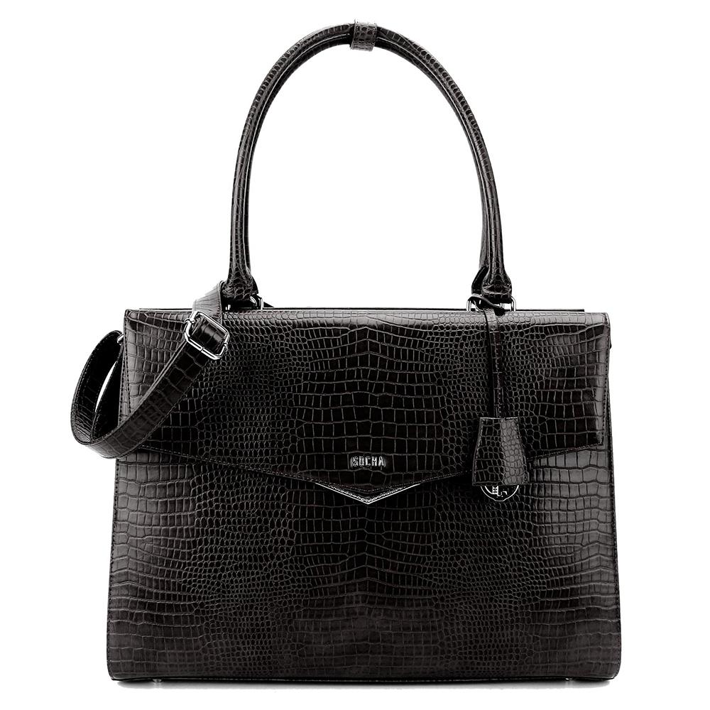 Socha Businessbag Silver Tip 15.6 Black