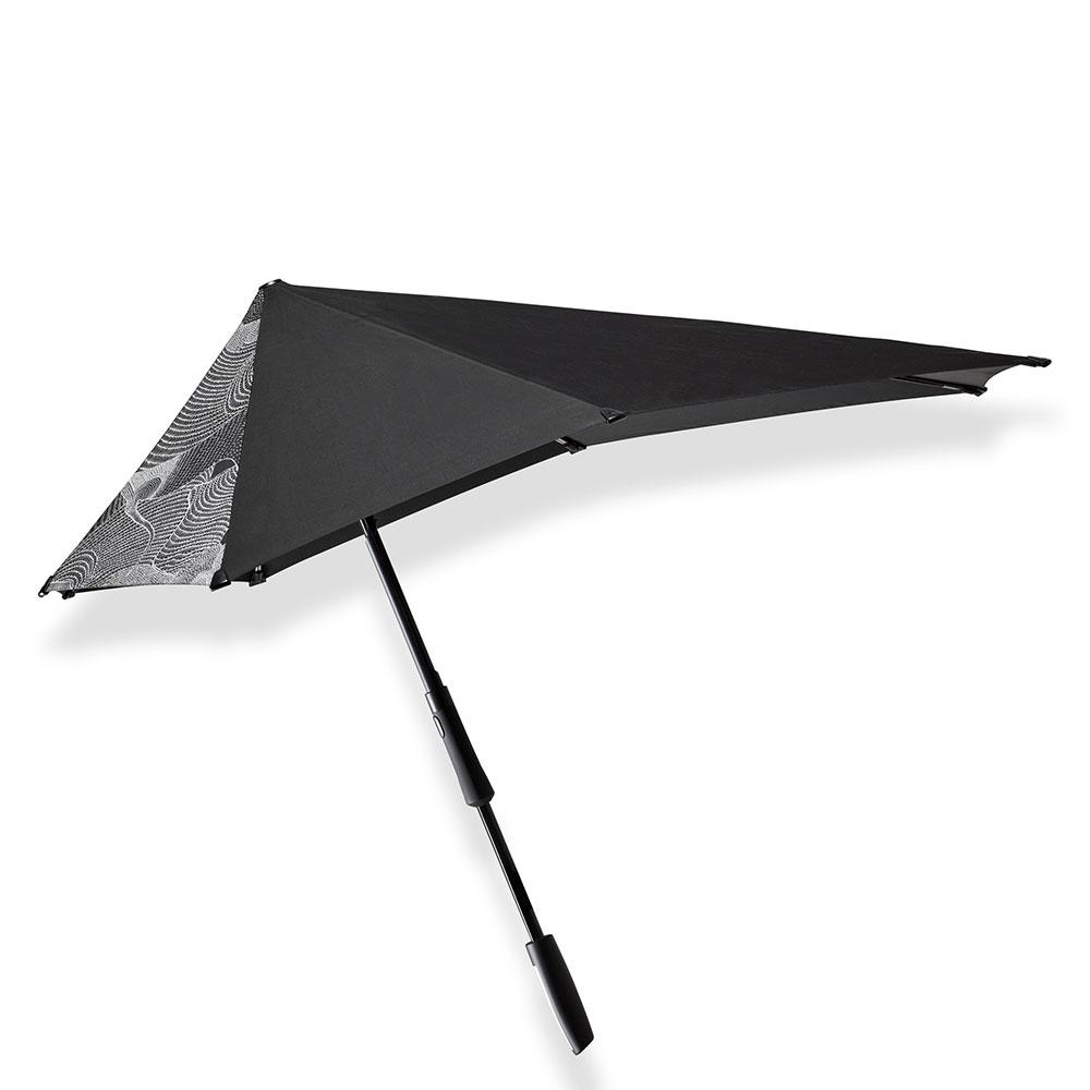 Senz Original Large Stick Paraplu Guz Black