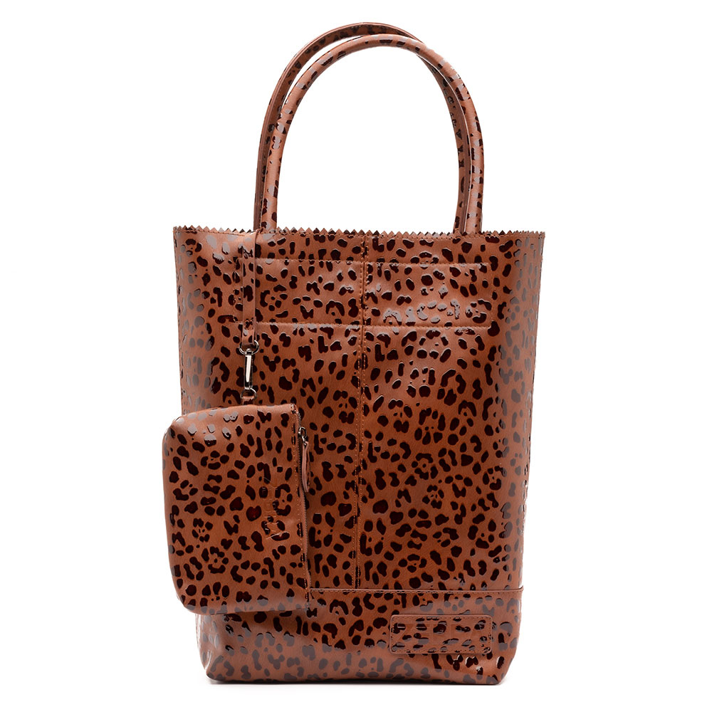 Zebra Trends Natural Bag Kartel Spots Camel