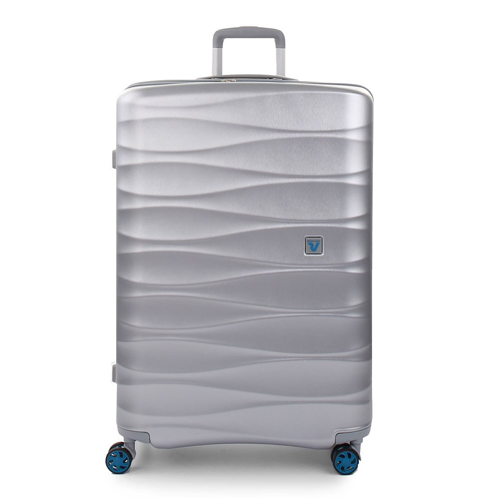 Roncato Stellar 4 Wiel Trolley Large 76 Expandable Silver