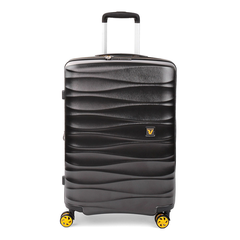 Roncato Stellar 4 Wiel Trolley Medium 64 Expandable Antracite